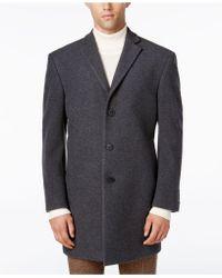 CALVIN KLEIN 205W39NYC - Men's Prosper Extra-slim Fit Overcoat - Lyst