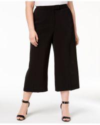 Anne Klein - Plus Size Crepe Culottes - Lyst