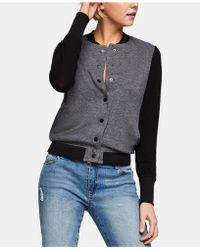 BCBGeneration - Varsity Sweater Jacket - Lyst