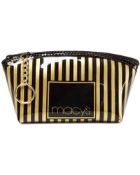 Macy's - Striped Cosmetic Case - Lyst