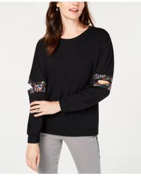 INC International Concepts - I.n.c. Sequined Cutout Sweatshirt, Created For Macy's - Lyst