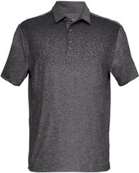 Under Armour - Playoff Performance Cross Stripe Golf Polo - Lyst