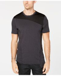 INC International Concepts - Colorblocked Mesh T-shirt, Created For Macy's - Lyst