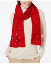 Charter Club - Charm-embellished Scarf, Created For Macy's - Lyst