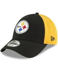 dbf9c23bb5c Lyst - Ktz Pittsburgh Steelers Original Fit 9Fifty Snapback Cap in Black
