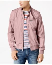 Members Only - Iconic Racer Lightweight Jacket - Lyst