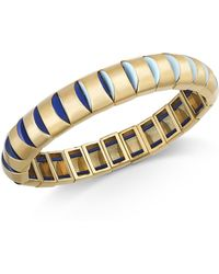 Kate Spade Gold-tone Stretch Bracelet - Multicolour