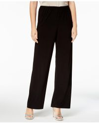 Alex Evenings - Wide-leg Trousers, Regular & Petite - Lyst