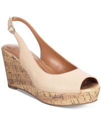 Style & Co. | Sondire Slingback Wedge Sandals | Lyst