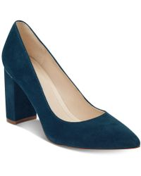 Marc Fisher - Viviene Block-heel Court Shoes - Lyst