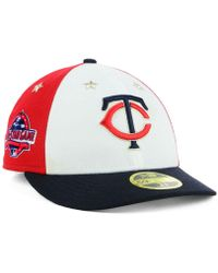sale retailer 50436 f0565 KTZ - Minnesota Twins All Star Game Patch Low Profile 59fifty Fitted Cap  2018 - Lyst