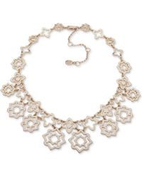"Ivanka Trump - Gold-tone Collar Necklace, 16"" + 3"" Extender - Lyst"