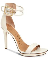 Calvin Klein | Women's Vable Sandals | Lyst