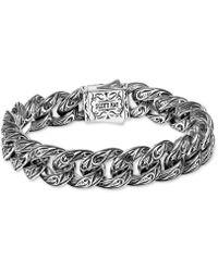 Scott Kay - Sparta Medium Link Bracelet In Sterling Silver & 18k Gold - Lyst