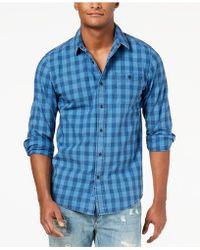 American Rag - Men's Blake Check Shirt - Lyst