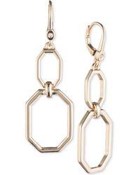 Ivanka Trump - Open Geometric Double-drop Earrings - Lyst