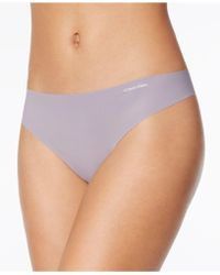 CALVIN KLEIN 205W39NYC - Invisibles Thong D3428 - Lyst