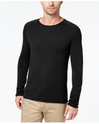 Daniel Hechter Men's Raw Edge Merino Wool Sweater