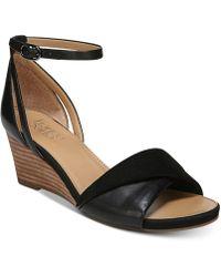 Franco Sarto | Deirdra Wedge Sandals | Lyst