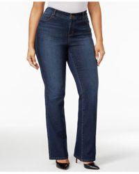 25bf5ee57e8 Style   Co. - Plus   Petite Plus Size Tummy-control Bootcut Jeans