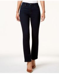 Charter Club - Petite Lexington Straight-leg Jeans, Created For Macy's - Lyst