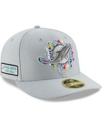 Lyst - KTZ Miami Dolphins Training Camp Official Bucket Hat in White ... 893d30b2f