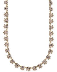 Givenchy - Silky Crystal Choker Necklace - Lyst