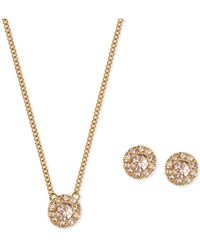 Givenchy - Silver-tone Necklace And Earring Set - Lyst