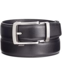 Kenneth Cole Reaction - Men's Exact Fit Slide Belt - Lyst