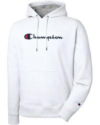 Champion Graphic Powerblend Fleece Pullover Hood
