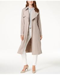 Cole Haan - Signature Drapey Belted Trenchcoat - Lyst