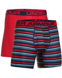 Under Armour - Men's 2-pk. Heatgear® Boxer Briefs - Lyst