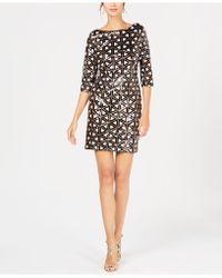 Ivanka Trump - Geometric Sheath Dress - Lyst