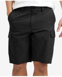 """Kenneth Cole - Mesh Tech Cargo 9"""" Shorts - Lyst"""
