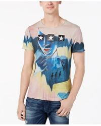 Guess - Star Girl Graphic T-shirt - Lyst