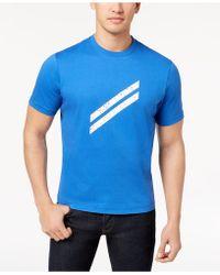 Daniel Hechter - Bar Logo-print T-shirt, Created For Macy's - Lyst