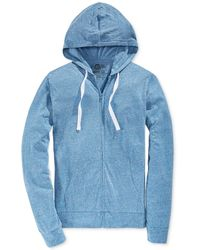 American Rag - Men's Solid Full-zip Hoodie - Lyst