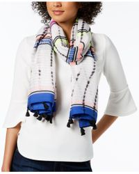 INC International Concepts - I.n.c. Dye-wash Striped Tassel Wrap & Sarong Cover-up, Created For Macy's - Lyst