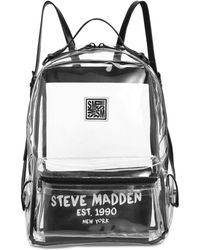 Steve Madden - Alessia Clear Dome Backpack - Lyst