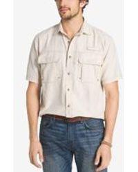 G.H.BASS - Men's Performance Vented Short-sleeve Shirt - Lyst
