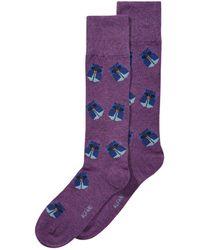 Alfani - Assorted Origami Dress Socks, Created For Macy's - Lyst