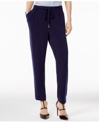 Olivia & Grace | Drawstring-waist Studio Trousers | Lyst