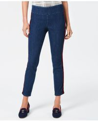 Charter Club - Pull-on Tummy-control Jeans, Created For Macy's - Lyst