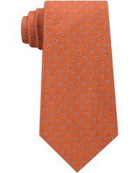 Michael Kors   Men's Textured Halo Dot Silk Tie   Lyst