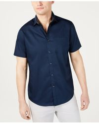 INC International Concepts - Short-sleeve Pocket Shirt, Created For Macy's - Lyst