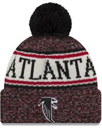 dfe8e0ea KTZ Atlanta Falcons Camo Heather 9fifty Snapback Cap in Green for Men - Lyst