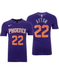 2efe78a16e2f Nike Deandre Ayton Phoenix Suns Nba Statement Player T-shirt in ...