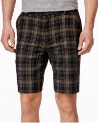 G.H.BASS - Men's Plaid Performance Ripstop Shorts - Lyst
