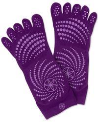 Gaiam - Grippy Yoga Socks - Lyst