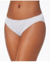 Charter Club - Pretty Cotton Bikini, Created For Macy's - Lyst